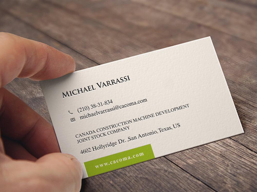 Cara Membuat Kartu Nama untuk Pebisnis 5