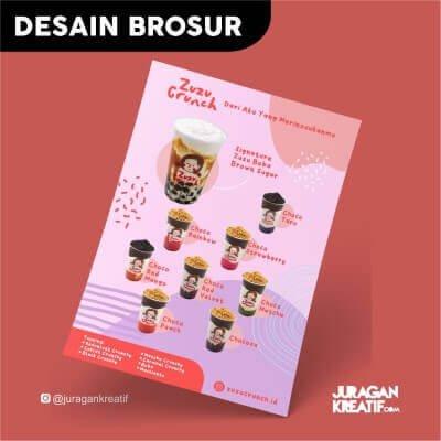 Desain Brosur Zuzu Crunch